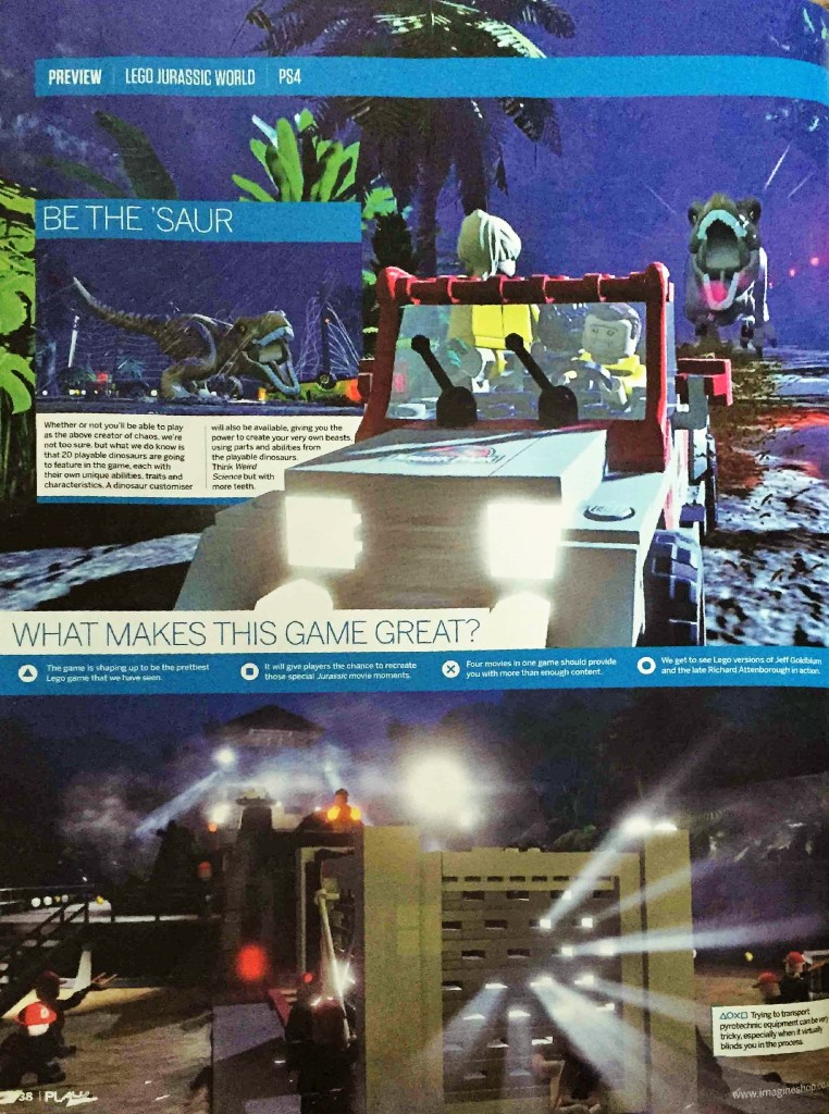 LEGO Jurassic World page 1